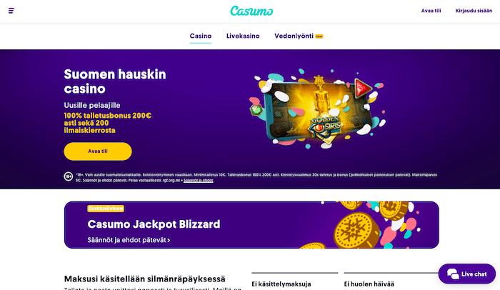 Casumon bonus